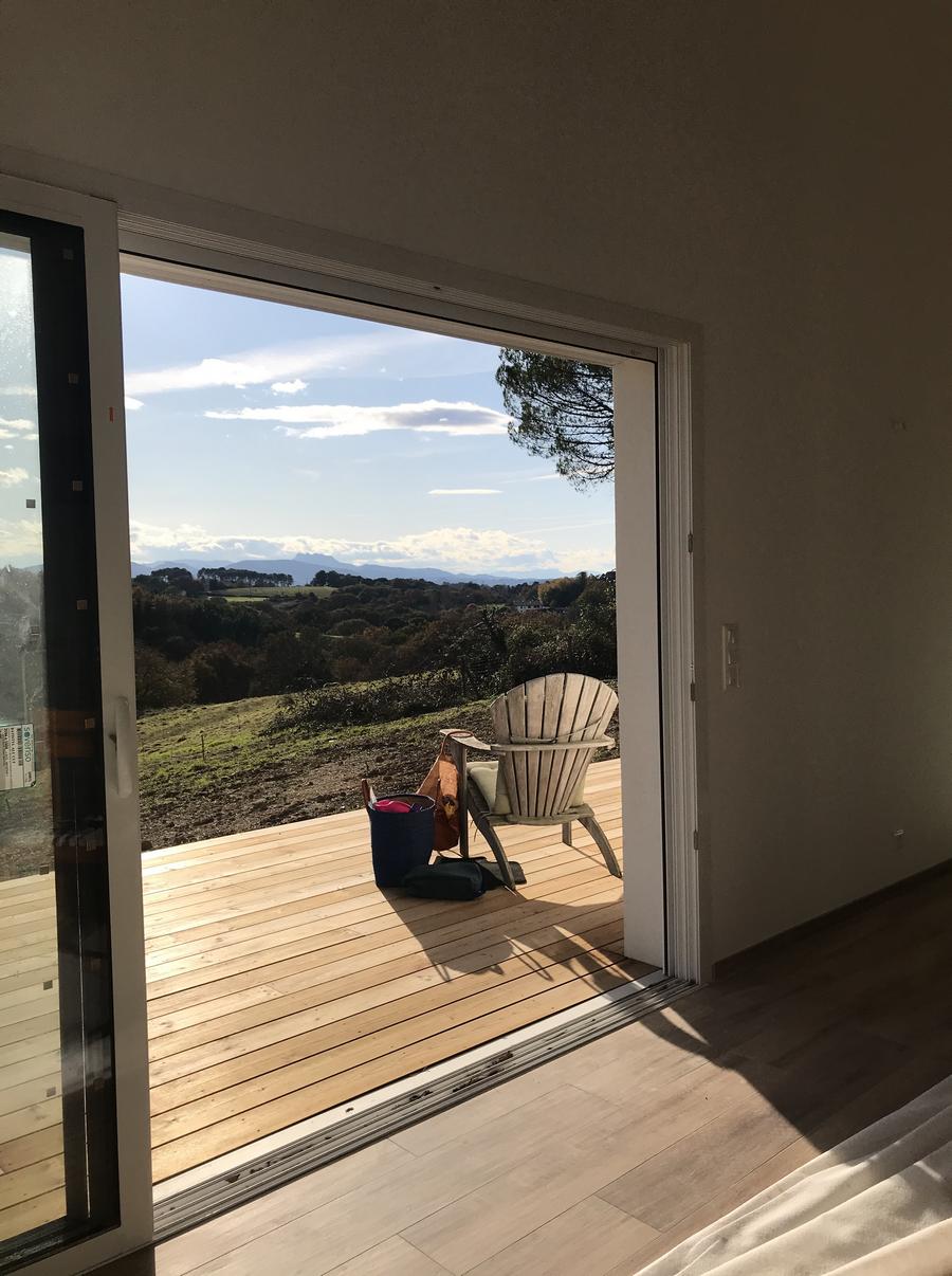 Construction avec vue magnifique au Pays Basque
