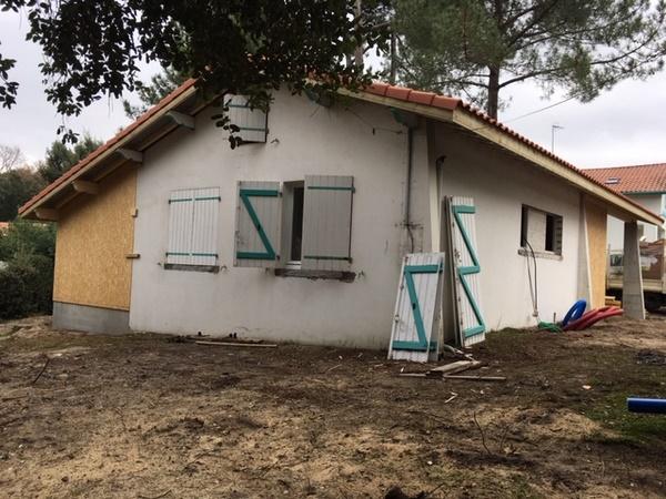 ossature bois renovation et agrandissement 2
