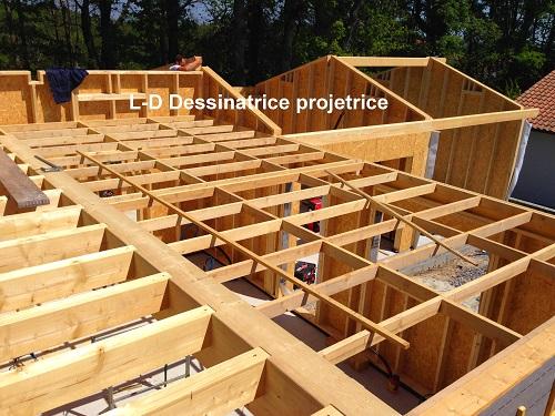 structure et plancher bois